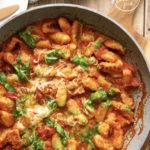 Gnocchi sauce tomate et pesto