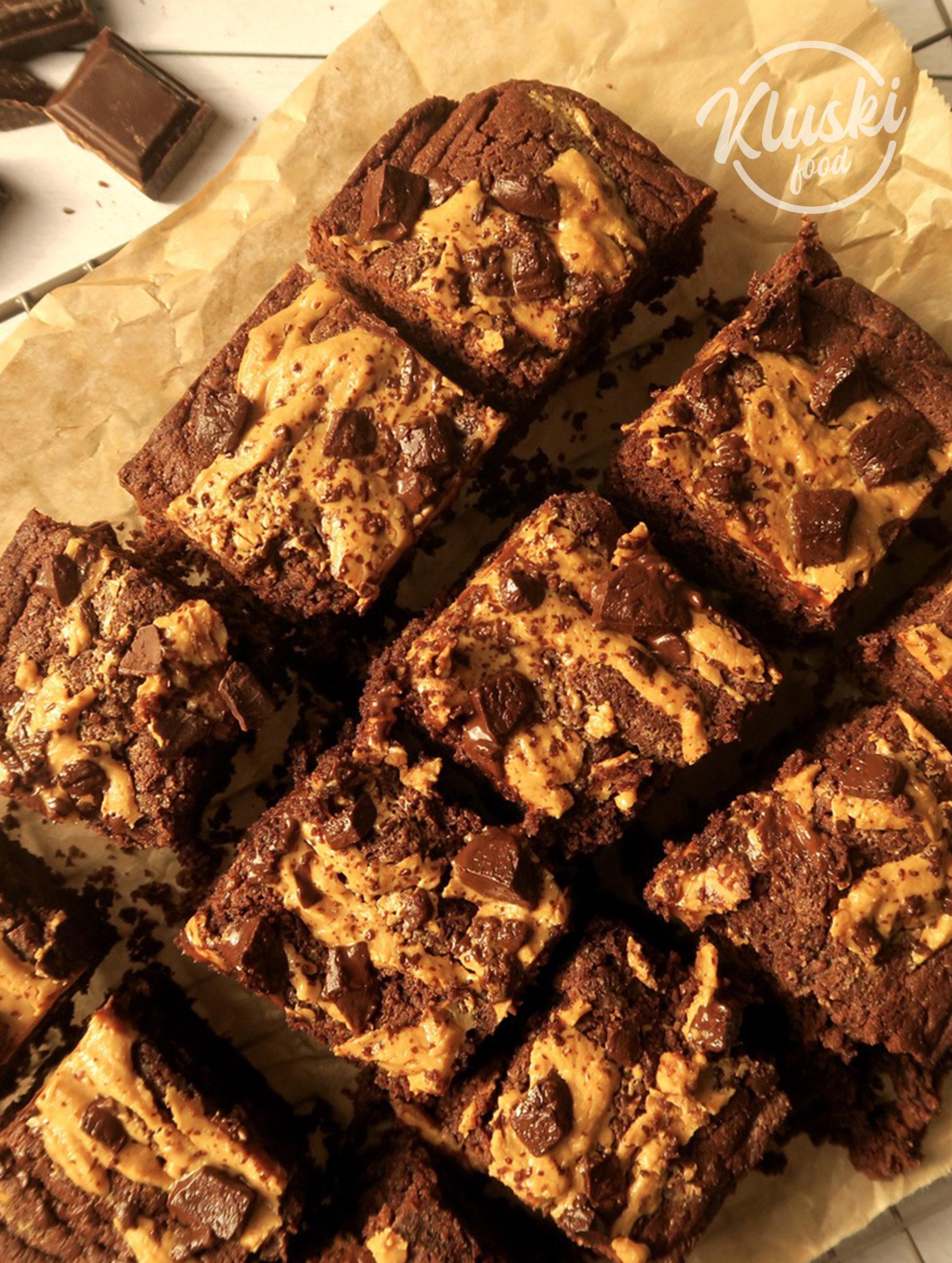 Brownies chocolat/beurre de cacahuètes
